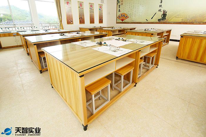 书法学生台,书法桌,书法台